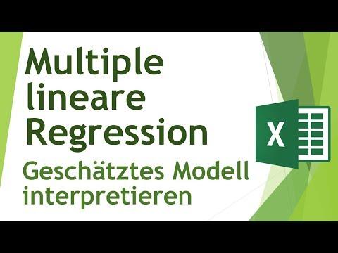 Multiple lineare Regression in Excel interpretieren - Daten analysieren in Excel (9)