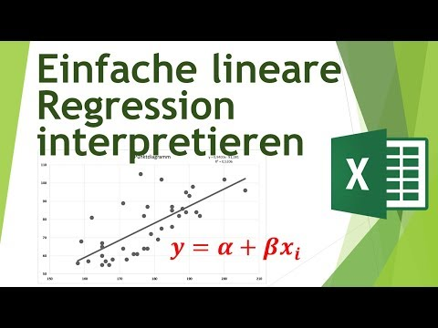 Einfache lineare Regression in Excel rechnen - Daten analysieren in Excel (7)