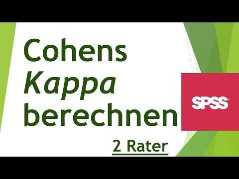 Cohens Kappa in SPSS berechnen - Daten analysieren in SPSS (70)