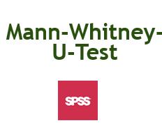 Mann-Whitney-U-Test in SPSS rechnen