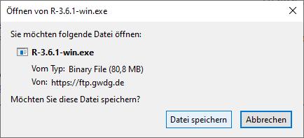 R windows download