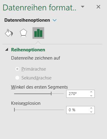 Kreisdiagramm drehen Excel
