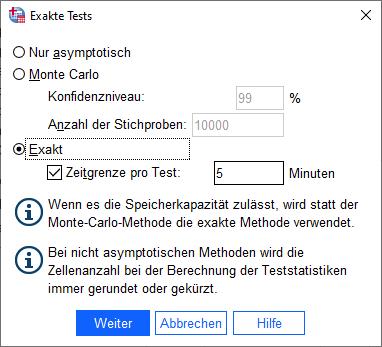Chi-Quadrat-Anpassungstest SPSS
